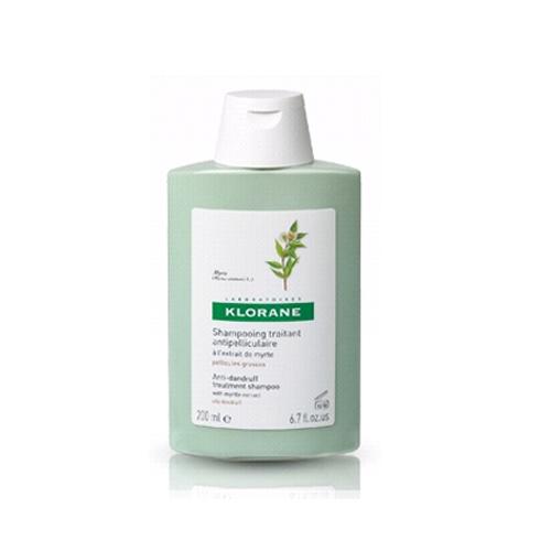 Klorane Шампунь Dandruff с экстрактом Мирта от жирной перхоти 200мл14Эффективно устраняет жирную перхоть. Оздоравливает кожу головы благодаря противогрибковому и противозудному действию. Регулирует выработку себума Эффективно устраняет перхоть. Регулирует выработку себума.