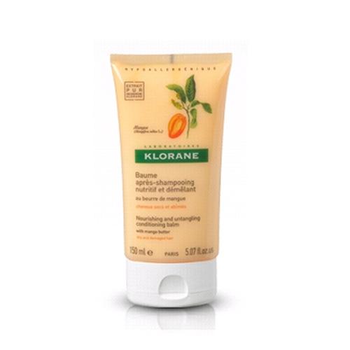 Klorane Бальзам Dry Hair с Манго питательный 150 млFS-36054Питает, защищает, увлажняет, восстанавливает волосы по всей длине. Уменьшает ломкость волос. Облегчает расчесывание. Питает, увлажняет и восстанавливает волосы