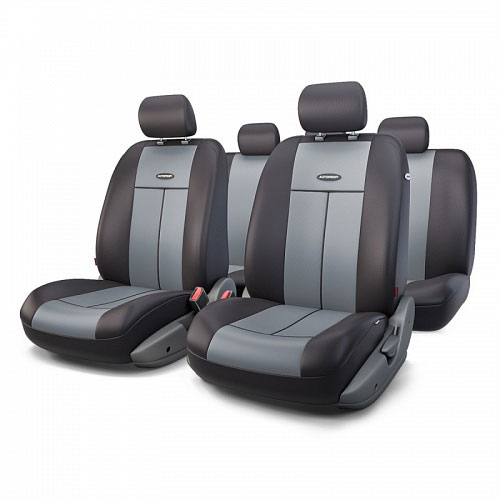 Авточехлы Autoprofi TT, цвет: черный, серый, 9 предметов. TT-902P BK/D.GYCA-3505Автомобильные чехлы Autoprofi TT изготавливаются из высококачественного полиэстера со вставками из поролона, обеспечивающего сцепление с сиденьем. Мягкие чехлы являются отличным дополнением салона любого автомобиля. Изделия придают автомобильному интерьеру современные и солидные черты.Универсальная конструкция подходит для большинства автомобильных сидений. Подходят для автомобилей с боковыми подушками безопасности (распускаемый шов).Специальные молнии, расположенные в чехлах спинки заднего ряда, позволяют использовать чехлы на автомобилях с различными пропорциями складывания заднего ряда.Комплектация: 5 подголовников, 2 чехла сидений переднего ряда, 1 спинка заднего ряда, 1 сиденье заднего ряда.