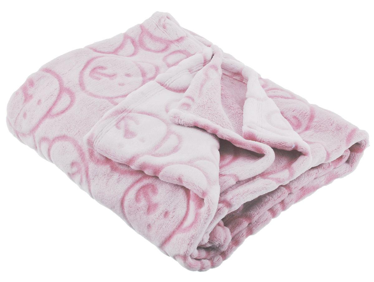 Baby Nice Детский плед-покрывало Micro Velour цвет розовый 100 см х 140 см68/1/7Детский плед-покрывало выполнен из материала нового поколения Micro Velour. Micro Velour - дышащая ткань, обладающая влагорегулирующим свойством и защитным покрытием. Материал способствует правильной терморегуляции, поддерживает влажностно-температурный баланс. Изделие не вызывает аллергии. Плед обладает исключительным теплом и необыкновенной легкостью. Изделие оформлено объемным рисунком мишек. Плед-покрывало удобен в эксплуатации: легко стирается, быстро сохнет, не требует глажки; он износостойкий; обладает антипиллинговым свойством.
