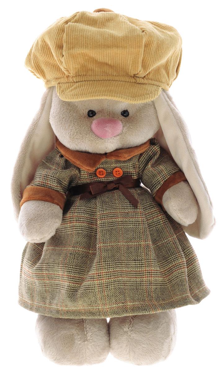 Мягкая игрушка Зайка Ми-девочка в Лондоне 32 см
