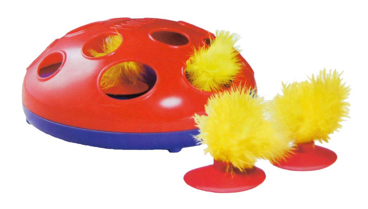 Игрушка - трек для кошек Kong Glide n Seek, на батарейках16291 оранжевыйКошки придут в восторг от погони за новой игрушкой Kong Glide n Seek! Технология магнитной левитации фактически оживляет игрушку из перьев – она непредсказуемо прыгает, крутится и вертится. Кошки гоняются за игрушкой и преследуют ее, следя за ней через отверстия. В каждый комплект Kong Glide n Seek входят две батарейки АА и две игрушки из перьев. Веселое и непредсказуемое скольжениеУдовлетворяет естественные охотничьи инстинкты Простое управление с помощью одной кнопки Интерактивная.