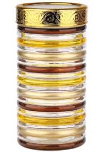 Банка для сыпучих продуктов Bohmann Кольца, цвет: прозрачный, золотой, коричневый, 1,7 лVT-1520(SR)Банка Bohmann Кольца изготовлена из стекла. Емкость снабжена пластиковой крышкой, которая плотно и герметично закрывается, дольше сохраняя аромат и свежесть содержимого. Банка подходит для хранения сыпучих продуктов: круп, специй, сахара, соли. Такая банка станет полезным приобретением и пригодится на любой кухне.Диаметр: 11,5 см.Высота: 22,5 см.