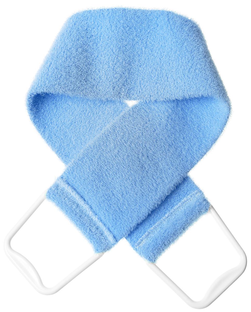 Riffi Мочалка-пояс, массажная, жесткая, цвет: голубой5010777139655Мочалка-пояс Riffi используется для мытья тела, обладает активным пилинговым действием, тонизируя, массируяи эффективно очищая вашу кожу.Примесь жестких синтетических волокон усиливает массажное воздействие на кожу. Для удобства применения пояс снабжен двумя пластиковыми ручками. Благодаря отшелушивающему эффекту мочалки-пояса, кожаосвобождается от отмерших клеток, становится гладкой, упругой и свежей.Массаж тела с применением Riffiстимулирует кровообращение, активирует кровоснабжение, способствует обмену веществ, что в свою очередьпозволяет себя чувствовать бодрым и отдохнувшим после принятия душа или ванны. Riffi регенерирует кожу,делает ее приятно нежной, мягкой и лучше готовой к принятию косметических средств. Приносит приятноерасслабление всему организму. Борется со спазмами и болями в мышцах, предупреждает образование целлюлитаи обеспечивает омолаживающий эффект. Моет легко и энергично. Быстро сохнет. Гипоаллергенная.Способ применения: начинайте массаж от ног круговыми движениями по направлению к сердцу, а затем выше.Товар сертифицирован.