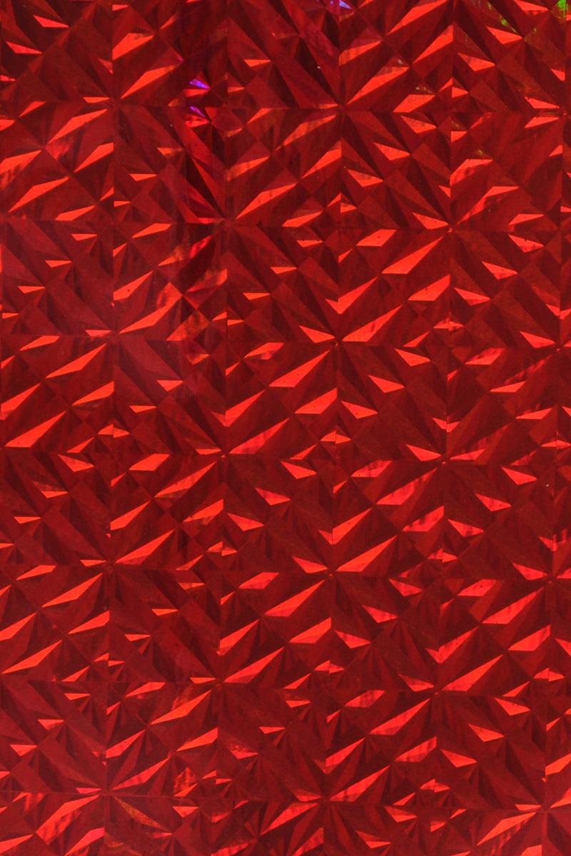 Бумага упаковочная Folia Магия, цвет: красный, 40 см х 100 см7708006Голографическая самоклеящаяся бумага Folia Магия - переливающаяся бумага, которая используется для изготовления открыток, для скрапбукинга и других декоративных или дизайнерских работ. Благодаря клейкой основе изделие также можно использовать для декорирования мебели и прочего.Бумага не пачкает руки и отлично крепится. Конструирование из такой бумаги - необходимый для развития детей процесс. Во время занятия аппликацией ребенок сумеет разработать четкость движений, ловкость пальцев, аккуратность и внимательность. Кроме того голографическая бумага позволит разнообразить идеи ребенка при создании творческих работ.Размер листа: 40 см х 100 см.
