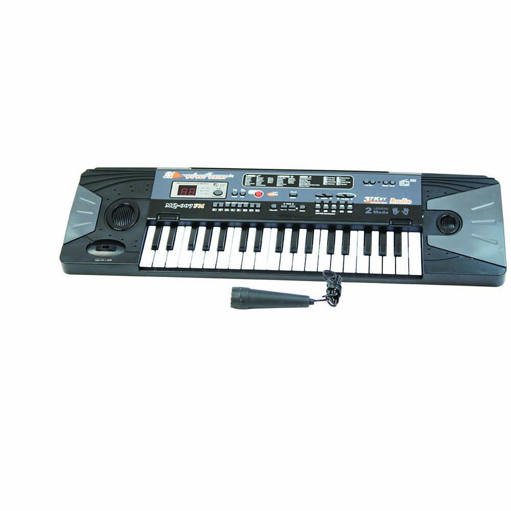Пианино MQ-007FM с микрофоном и радио MQ