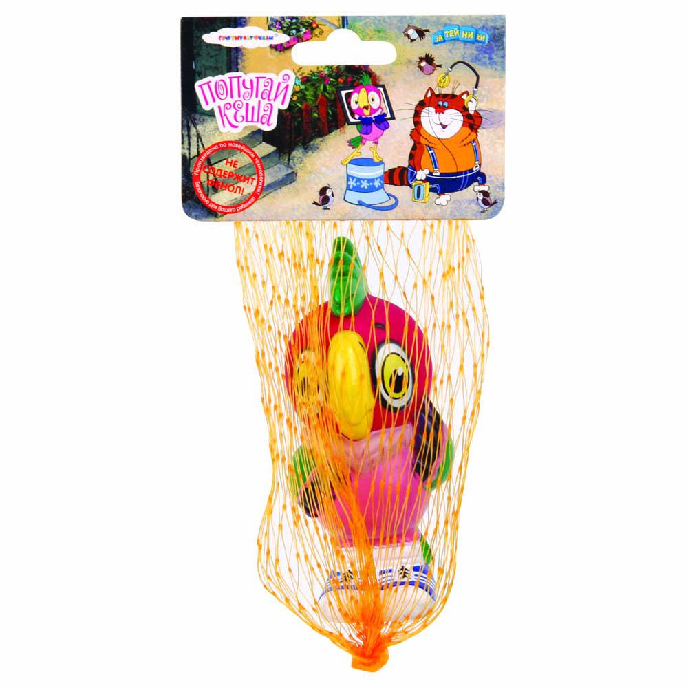 Союзмультфильм Игрушка для ванной Попугай Кеша фигурки игрушки союзмультфильм пластизоль попугай кеша со звуком