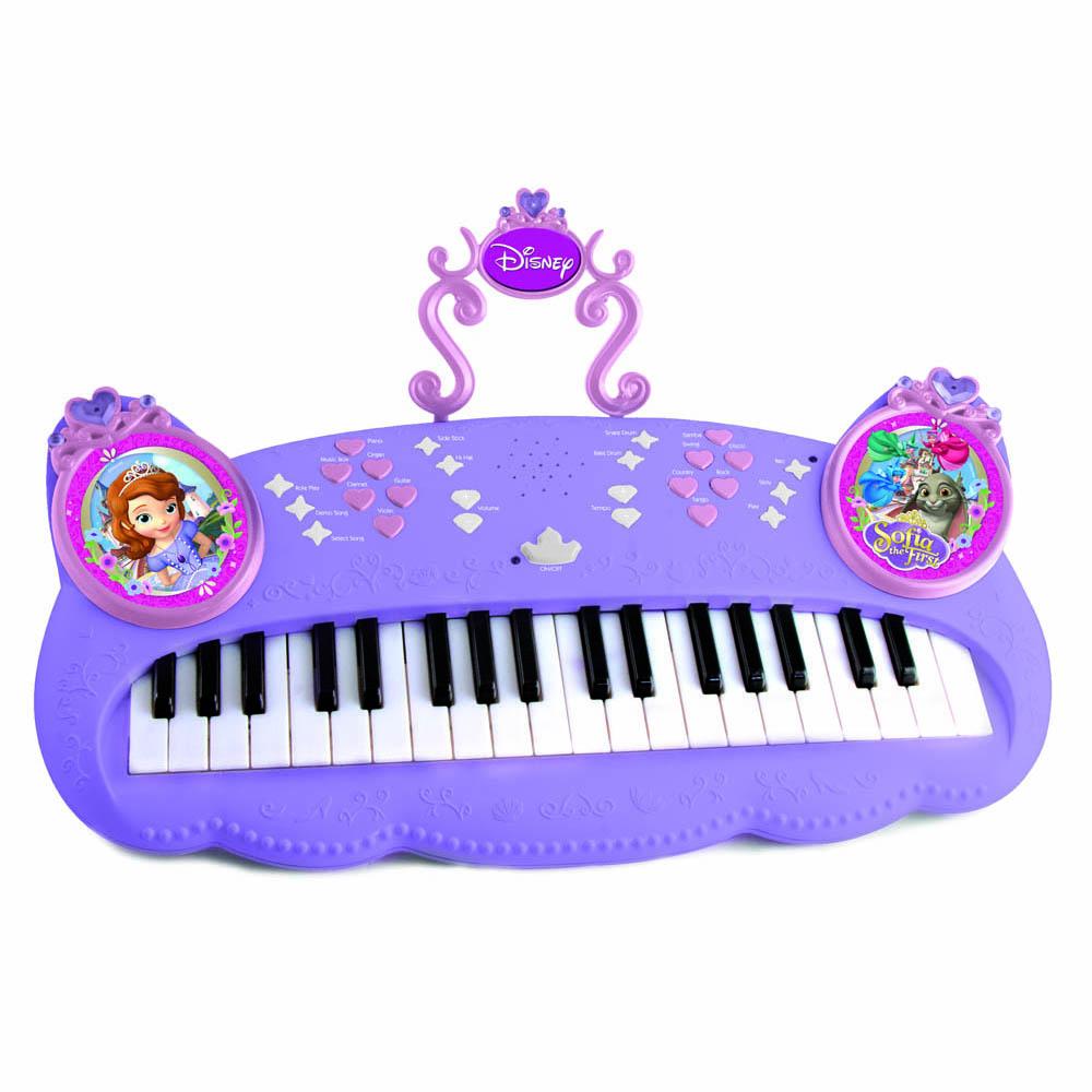 Disney Пианино Sofia на батарейках