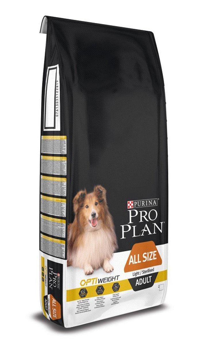 Корм сухой Pro Plan Light, для собак, низкокалорийный, с курицей и рисом, 14 кг12272558Корм сухой Pro Plan Light способствует снижению веса без вреда для здоровья. Доказана эффективность комплекса Optiweight, в здоровом снижении веса, благодаря высокому содержанию белков, пониженному содержанию жиров и достаточному количеству клетчатки. Что позволяет лучше контролировать аппетит собаки, сохраняя при этом мышечную массу и поддерживая здоровье суставов.Корм сухой полнорационный Pro Plan Light: - Помогает поддерживать оптимальную массу тела во время снижения веса и после стерилизации; - Помогает уменьшить чувство голода благодаря высокому содержанию белка, сложным углеводам и достаточному количеству клетчатки;- Сочетание основных питательных веществ, которое помогает поддерживать здоровье суставов вашей собаки при активном образе жизни; - Способствует сжиганию калорий и поддерживает оптимальную массу тела, помогая избежать набора веса.Состав: сухой белок птицы, пшеница, кукуруза, курица (14%), сухая мякоть свеклы, продукты переработки растительного сырья, кукурузная мука, рис (4%), глютен, вкусоароматическая кормовая добавка, рыбий жир, минеральные вещества, животный жир, витамины, антиоксиданты.