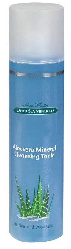 Mon Platin DSM Алоэ вера - минеральный очищающий лосьон 250 млFS-00897Тоник является заключительным этапом очищения, надолго увлажняя кожу, т. к. создает неощутимую пленку на её поверхности, предотвращая потерю влаги. Прекрасно тонизирует кожу лица, увлажняет, предотвращает воспалительные процессы. Тоник насыщен Минералами (26 минералов) и солью Мертвого моря, что благоприятно влияет на питание кожи, обладает омолаживающим и регенерирующим эффектом. Камфара оказывает противобактериальное действие. Аллантоин (зародыши пшеницы), оказывает смягчающее и увлажняющее действие, стимулирует процесс заживления ран и обновление клеток эпидермиса. Оказывает благоприятное воздействие в условиях повышенной агрессии окружающей среды (ветер, палящее солнце, значительные перепады температур и влажности). Для ежедневного применения утром и вечером.Тоник является заключительным этапом очищения, надолго увлажняя кожу, т. к. создает неощутимую пленку на её поверхности, предотвращая потерю влаги. Прекрасно тонизирует кожу лица, увлажняет, предотвращает воспалительные процессы. Тоник насыщен Минералами (26 минералов) и солью Мертвого моря, что благоприятно влияет на питание кожи, обладает омолаживающим и регенерирующим эффектом. Камфара оказывает противобактериальное действие. Аллантоин (зародыши пшеницы), оказывает смягчающее и увлажняющее действие, стимулирует процесс заживления ран и обновление клеток эпидермиса. Оказывает благоприятное воздействие в условиях повышенной агрессии окружающей среды (ветер, палящее солнце, значительные перепады температур и влажности). Для ежедневного применения утром и вечером.