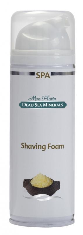 Mon Platin DSM Пена для бритья 250 мл400790Пена обеспечивает легкий и качественный процесс бритья, надолго сохраняя кожу лица гладкой и чистой. Пена не вызывает раздражения и аллергии. Пена насыщена Минералами (26 минералов) и солью Мертвого моря, что благоприятно влияет на питание и увлажнение кожи, обладает омолаживающим и регенерирующим эффектом.