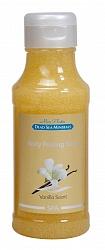 Mon Platin DSM Мыло-пилинг для тела (ваниль) 400 млMFM-3101Мыло-пилинг для тела с натуральными экстрактами лаванды, ванили, ромашки прекрасно подходит для удаления ороговевших и отмерших клеток кожи, улучшая таким образом ее внешний вид и способствуя регенерации. Витамин Е устраняет шелушение и сухость, делает кожу гладкой и эластичной. Пилинговые частицы разглаживают мелкие морщинки, способствуют выводу из организма токсинов и вредных веществ.