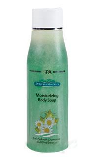 Mon Platin DSM Увлажняющее мыло для тела - питающий эффект (экстракт ромашки и оливы) 500 млMP59.4DУвлажняющее мыло для тела – питающий эффект обогащено экстрактом ромашки и оливковым маслом. Очищает, увлажняет и освежает кожу. Оливковое масло питает кожу, придает ей эластичность. Экстракт ромашки оказывает на кожу успокаивающее и освежающее действие. Мыло деликатно очищает, освежает и тонизирует кожу, восстанавливает и поддерживает ее водный баланс, не пересушивая ее.