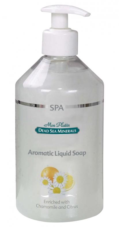 Mon Platin DSM Ароматическое чувственное мыло широкого использования 500 млSatin Hair 7 BR730MNМыло на основе минеральных компонентов Мертвого моря, ароматических масел и витаминов С, А, Е, D – для получения чувственного, обволакивающего эффекта. Придает ощущение свежести и ласкающей нежности. Увлажняет кожу, придавая ей свежий, волнующий запах.