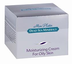 Mon Platin DSM Увлажняющий крем для жирной кожи 50 мл4751006750869Крем разработан специально для жирной кожи, которая требует особого и интенсивного ухода, поэтому крем содержит комбинацию активных компонентов, которые контролируют жирность кожи. Крем насыщен Минералами (26 минералов) и солью Мертвого моря, что оказывает на кожу омолаживающее и регенерирующее действие. Содержит комплекс солнечных фильтров. Аллантоин, витамин Е оказывают на кожу смягчающее, противовоспалительное и заживляющее действие. Рекомендуется применять ежедневно.