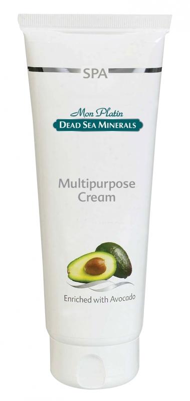 Mon Platin DSM Многофункциональный крем Авокадо 250 млB28703Многофункциональный крем для лица и тела питает, освежает и смягчает кожу. Масло авокадо обладает защитным, регенерирующим, смягчающим и заживляющим воздействием. Оно благотворно воздействует на сухую кожу, делая ее более эластичной, омолаживая и насыщая ее влагой. Подходит для всех типов кожи.