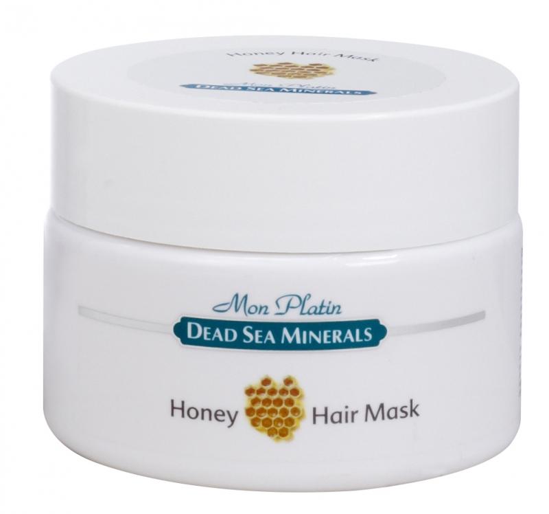 Mon Platin DSM Медовая маска для волос 250 млFS-00897Маска предназначена для сухих волос и волос, поврежденных в результате вредного воздействия окружающей среды, химической завивки, горячего воздуха фена, частых окрашиваний волос. Маска насыщена Минералами (26минералов) и солью Мертвого моря, что благоприятно влияет на питание кожи головы и обеспечивает прекрасное комплексное питание для волос. Витамин «Е» - мощный антиоксидант. Он укрепляет мембраны клеток, стимулирует кожное дыхание и кровообращение, увлажняет, питает, снимает раздражение кожи головы, эффективно защищает волосы от солнечного излучения.Прополис и мёд оказывают мягкое антисептическое действие, защищают волосы от излишней сухости, истончения, образования чешуек, а также усиливает рост волос. Диметикон, входящий в состав маски формирует защитный барьер, предотвращает трансдермальную потерю влаги. Он покрывает волосы тончайшей неощутимой пленкой, которая защищает их от горячего воздуха фена и солнечного излучения.