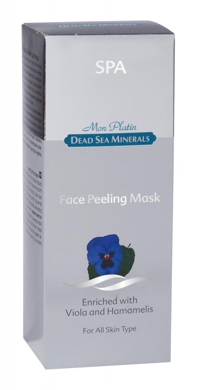 Mon Platin DSM Маска-Пилинг для лица 150 млFS-00897Особо эффективна для глубокой очистки кожи лица, удаления омертвевших клеток. Способствует обновлению клеток, стимулирует кровообращение, сокращает поры, придает коже гладкость, бархатистость и свежесть. Маска обогащена растительными экстрактами и минералами Мертвого моря.