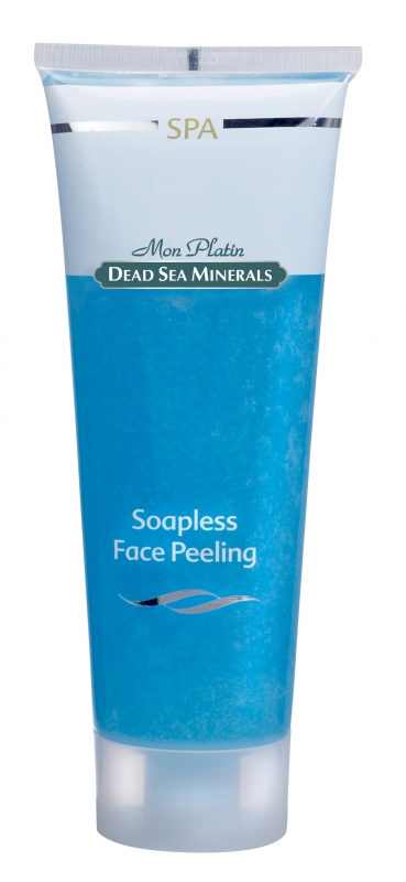Mon Platin DSM Крем-пилинг для лица без содержания мыла голубой 250 млB28625Удаляет омертвевшие клетки, делая кожу упругой и бархатистой, обладает приятным ароматом, стимулирует приток крови. Превосходно разглаживает морщины, предохраняет от появления новых морщин. Обогащено витамином Е и натуральными травяными экстрактами. Содержит 26 полезных минералов Мёртвого моря. Подходит для всех типов кожи.