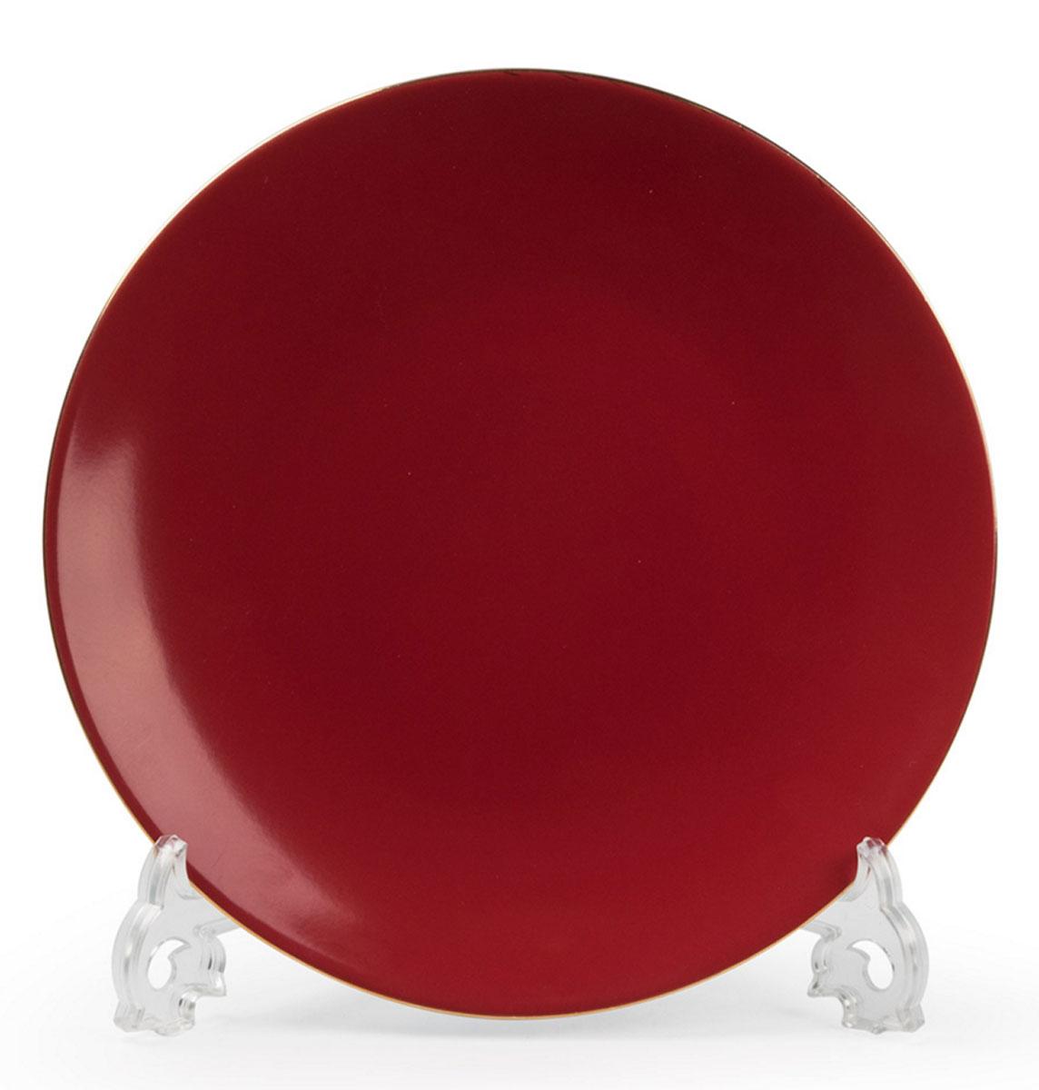Monalisa 3125 набор тарелок 27 см*6 шт, цвет: красный с золотом115510В наборе тарелка 27 см 6 штук Материал: фарфор: цвет: красный с золотомСерия: MONALISA