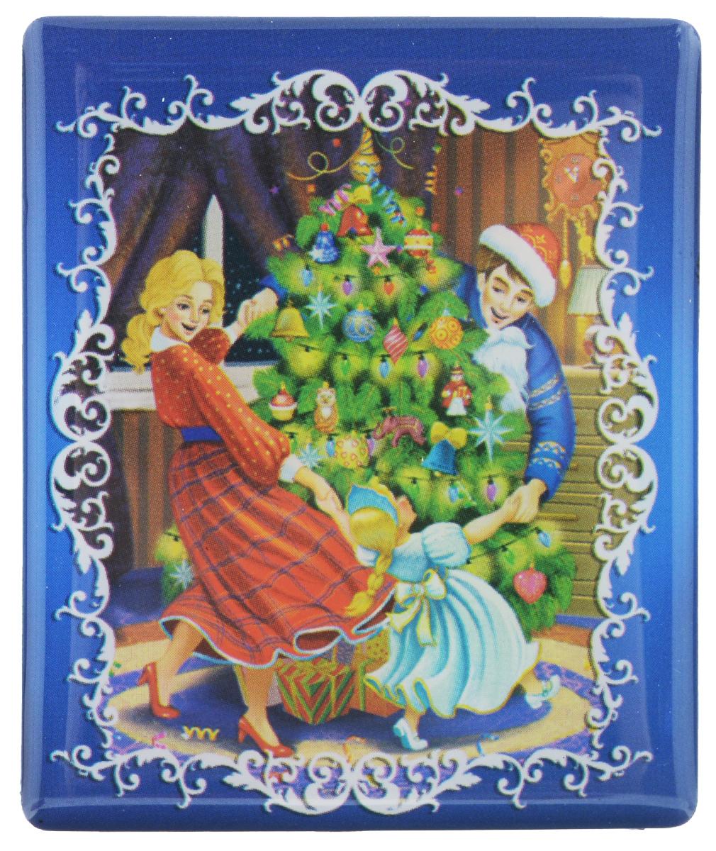 Магнит Феникс-презент Счастливая семья, 6 х 5 смБрелок для ключейМагнит прямоугольной формы Феникс-презент Счастливая семья, выполненный из агломерированного феррита, станет приятным штрихом в повседневной жизни. Оригинальный магнит, декорированный изображением семьи, кружащейся вокруг елки, поможет вам украсить не только холодильник, но и любую другую магнитную поверхность. Материал: агломерированный феррит.