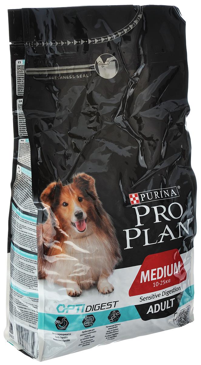 Корм сухой Pro Plan Adult Sensitive для собак с чувствительным пищеварением, с ягненком и рисом, 1,5 кг12278110Правильное функционирование пищеварительной системы имеет важное значение для получения питательных веществ, необходимых вашей собаке. Разработанный ветеринарами и диетологами корм Pro Plan Adult Sensitive с комплексом Optidigestповышает здоровье пищеварительной системы собак, испытывающих дискомфорт в желудочно-кишечном тракте. Клинически доказано: Optidigest содержит отобранный источник пребиотиков для улучшения баланса микрофлоры кишечника и качества стула.Состав: сухой белок птицы, пшеница, кукуруза, ягненок (14%), животный жир, кукурузная мука, рис (4%), вкусоароматическая кормовая добавка, сухая мякоть свеклы, глютен, продукты переработки растительного сырья, сушеный корень цикория (1%, источник пребиотиков), минеральные вещества, яичный порошок, рыбий жир, витамины, антиоксиданты. Добавленные вещества: МЕ/кг: витамин A: 30 000; витамин D3: 975; витамин E: 550; мг/кг: витамин C: 140; железо: 66; йод: 1,7; медь: 10; марганец: 31; цинк: 125; селен: 0,1.Гарантируемые показатели: белок: 25,0%; жир: 15,0%; сырая зола: 7,5%; сырая клетчатка: 3,0%.Товар сертифицирован.