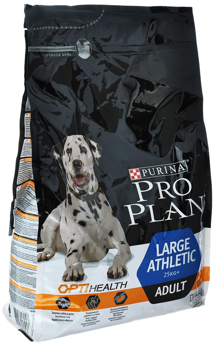 Корм сухой Pro Plan Atletik для взрослых собак крупных пород, с курицей, 3 кг12272234Сухой корм Pro Plan Atletik - полнорационный корм для взрослых собак крупных пород с атлетическим телосложением весом от 25 кг. Корм с комплексом Optihealth, с курицей и рисом. Оптимальное питание является основой здоровья и благополучия. Корм с комплексом Optihealth предоставляет современное питание, которое оказывает долгосрочное влияние на здоровье собаки. Комплекс Optihealth сочетает специально отобранные питательные вещества, необходимые собакам разных размеров и телосложения, поддерживает их особые потребности и помогает сохранить им отличное состояние. Особенности: - сочетание компонентов для здоровья зубов и десен, - высокая усвояемость питательных веществ для удовлетворения потребностей вашей собаки, - сочетание основных питательных веществ, которое помогает поддерживать здоровье суставов вашей собаки при активном образе жизни, - специальная рецептура для собак крупных пород с атлетическим телосложением, - содержит кусочки высококачественного куриного мяса. Состав: сухой белок птицы, пшеница, кукуруза, курица (14%), животный жир, сухая мякоть свеклы, рис (4%), вкусоароматическая кормовая добавка, минеральные вещества, рыбий жир, продукты переработки растительного сырья, витамины, антиоксиданты.Добавленные вещества: МЕ/кг: витамин А: 20000; витамин D3: 650; витамин Е: 550; мг/кг: витамин С: 140; железо: 68; йод: 1,7; медь: 10,7; марганец: 32; цинк: 129; селен: 0,11. Гарантируемые показатели: белок 27%, жир 17%, сырая зола 7,5%, сырая клетчатка 2,5%. Товар сертифицирован.