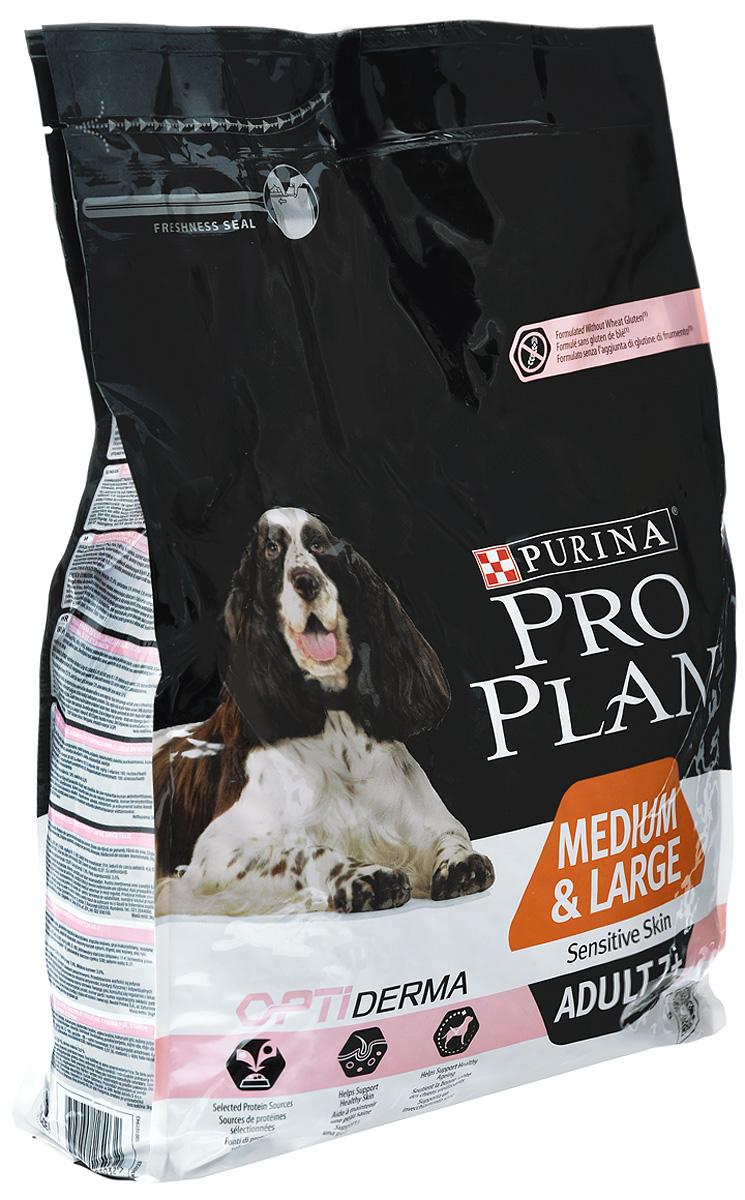 Корм сухой Pro Plan Senior Sensitive для собак старше 7 лет с чувствительной кожей, с лососем и рисом, 3 кг0120710Сухой корм Pro Plan Senior Sensitive - полнорационный корм для взрослых собак старше 7 лет средних и крупных пород с чувствительной кожей. Корм с комплексом Optiderma, с лососем и рисом. Некоторые собаки имеют склонность к расчесыванию и расцарапыванию своей кожи, у них может чаще наблюдаться перхоть. Корм Purina Pro Plan Optiderma обеспечивает своевременное питание, которое поддерживает чувствительную кожу взрослых собак. Комплекс Optiderma включает в себя специальную комбинацию питательных веществ, которые поддерживают здоровье кожи и красивую шерсть, а отобранные источники белка помогают сократить возможные реакции, связанные с пищевой чувствительностью. Особенности:- рецептура без пшеничного глютена (может содержать незначительные следы глютена),- особые источники белка,- специально отобранные источники белка для собак с чувствительной кожей,- поддерживает здоровье кожи, - клинически подтверждено: поддерживает здоровье кожи, - помогает сохранять здоровье в зрелые годы,- помогает сохранять здоровье в зрелые годы благодаря специальной рецептуре для пожилых собак, - сочетание основных питательных веществ, которое помогает поддерживать здоровье суставов пожилой собаки при активном образе жизни.Состав: лосось (17%), рис (16%), кукуруза, сухой белок лосося, кукурузный глютен, продукты переработки растительного сырья, кукурузная мука, сухая мякоть свеклы, сухой яичный порошок, животный жир, кукурузный крахмал, минеральные вещества, сушеный корень цикория, вкусоароматическая кормовая добавка, масло соевое, рыбий жир, витамины, антиоксиданты. Добавленные вещества: МЕ/кг: витамин А: 30000; витамин D3: 970; витамин Е: 650; мг/кг: витамин С: 165; железо: 103; йод: 2,6; медь: 16; марганец: 48; цинк: 190; селен: 0,16. Гарантируемые показатели: белок 27%, жир 13%, сырая зола 7%, сырая клетчатка 3%. Товар сертифицирован.