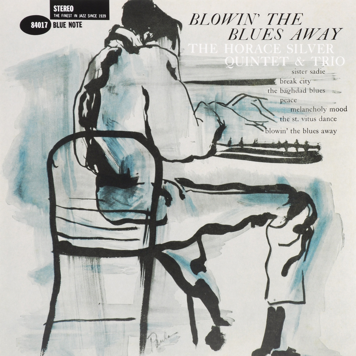 The Horace Silver Quintet Horace Silver Quintet & Trio. Blowin' The Blues Away (LP) the counterlife