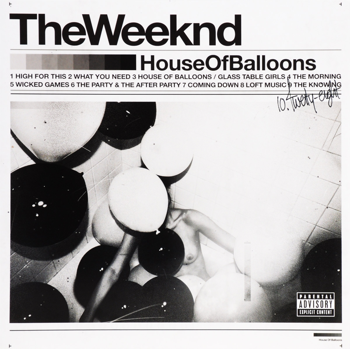 The Weeknd The Weeknd. House Of Balloons (2 LP) the trespasser