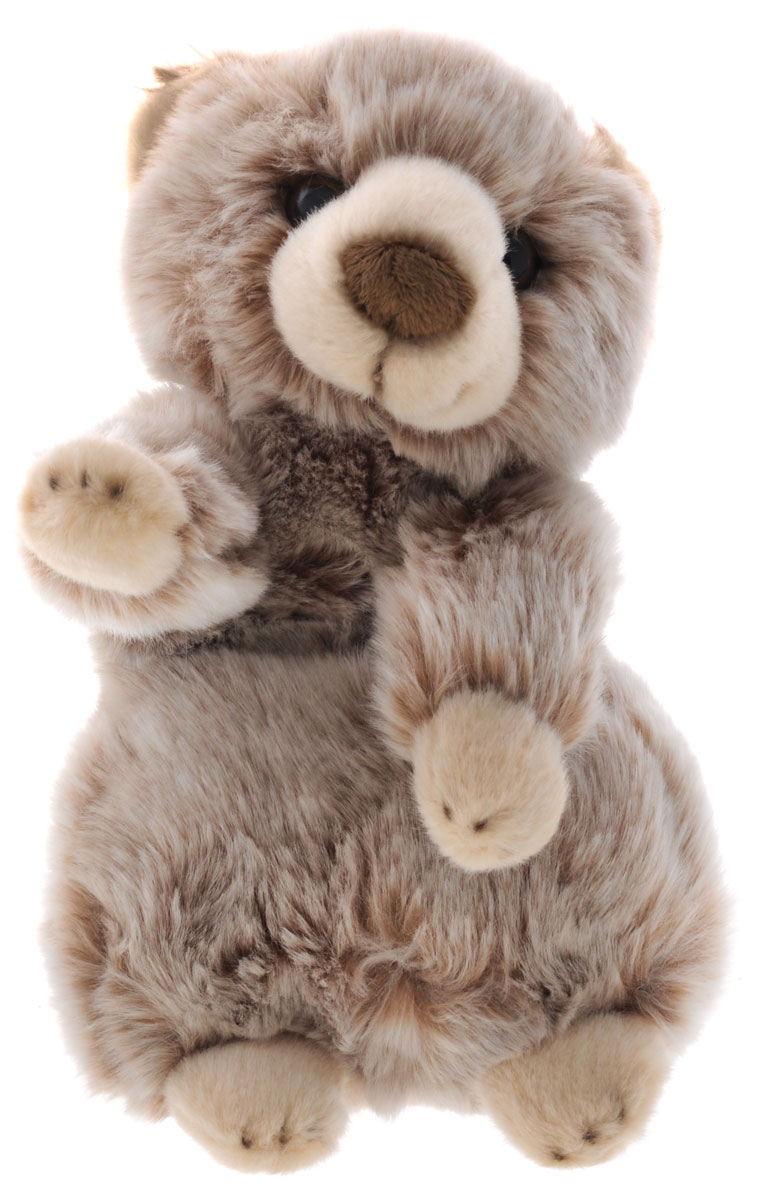 Maxi Toys Мягкая игрушка Медвежонок цвет коричневый 24 см maxi toys мягкая игрушка антистресс