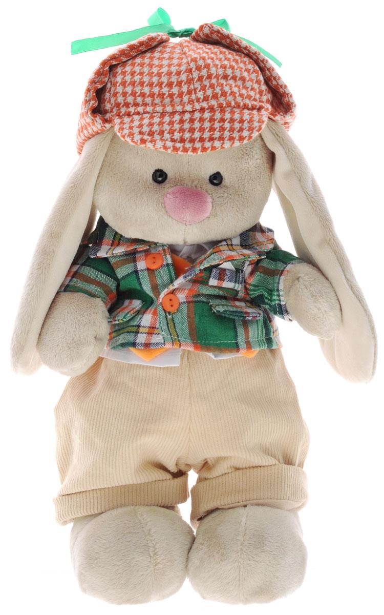 Мягкая игрушка Зайка Ми-мальчик в Честере 32 см