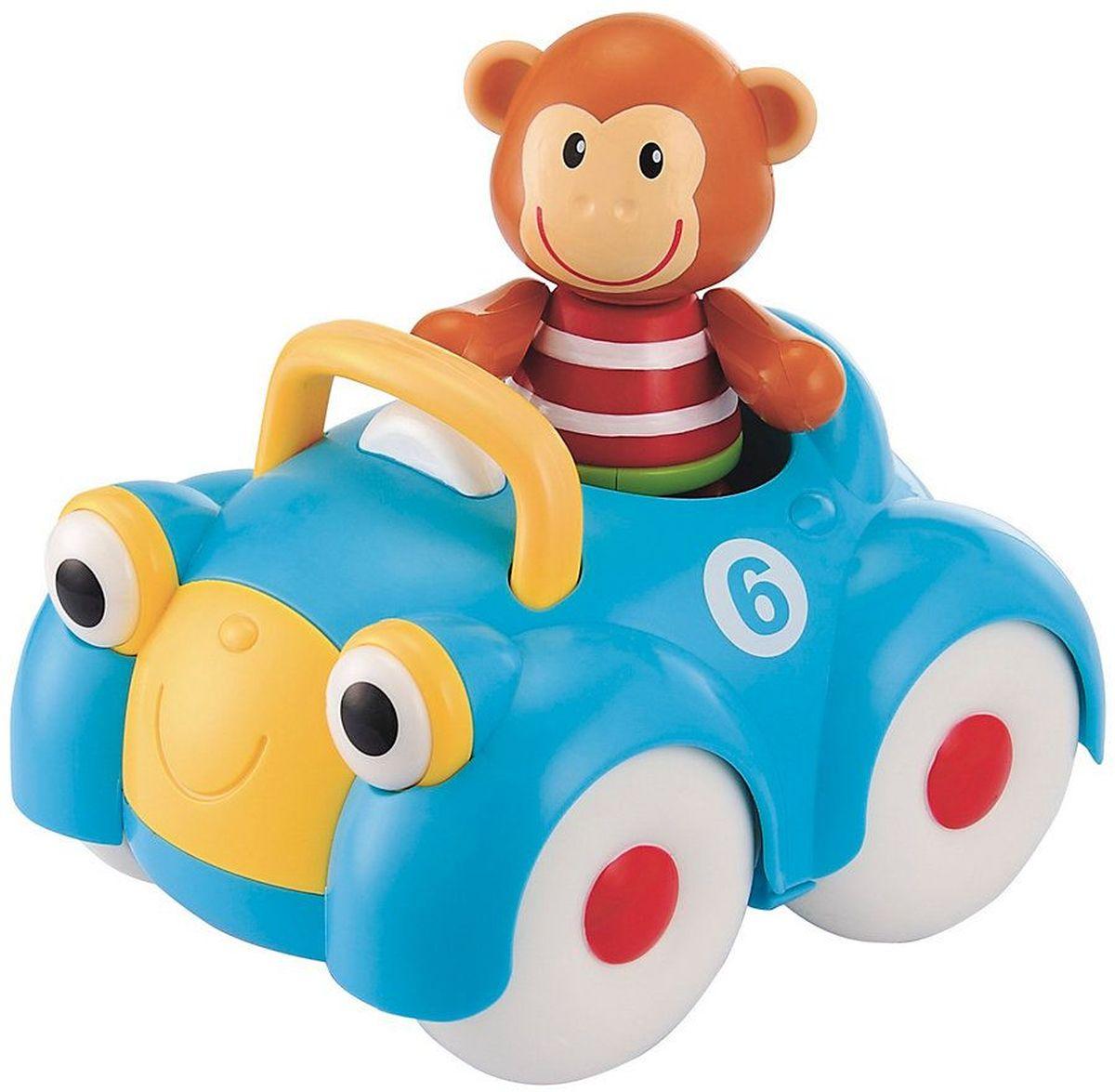 ELC Машинка-игрушка с обезьянкой the dam deluged gasping ganges vol 2