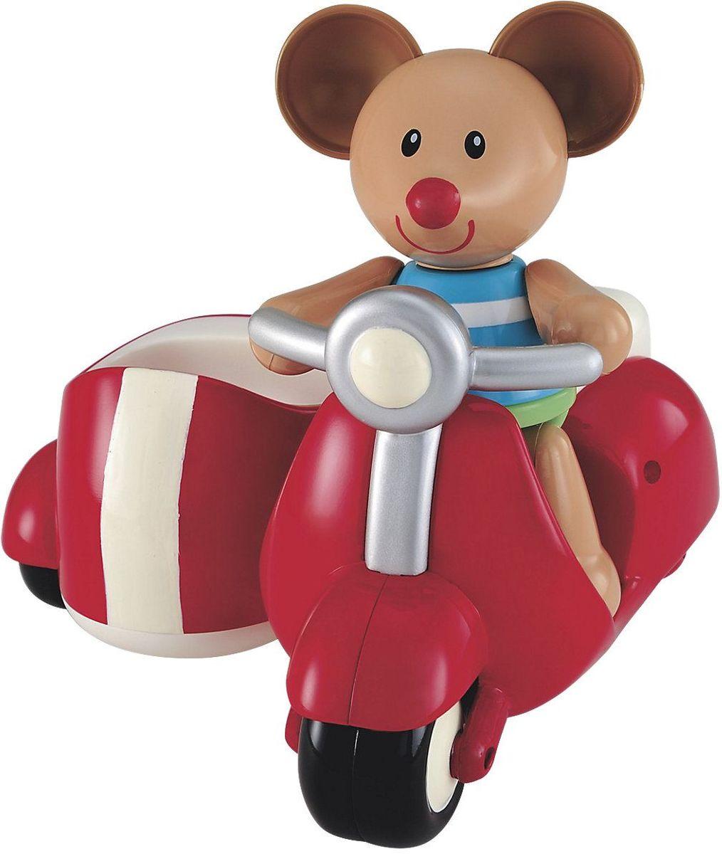 ELC Развивающая игрушка Мышка на скутере цвет красный elc служб спасения