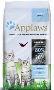 Корм сухой Applaws для котят, беззерновой, с курицей и овощами, 2 кг0120710Беззерновой корм для кошек Applaws изготовлен поособым рецептам, разработанными диетологамиинститута Великобритании. Правильная диета очень важна для питомцев, ведьона меняется в зависимостиот жизненного цикла. Также полнорационные корма должны включать в себянеобходимое количество витаминов и минералов. В рецептах сухих кормовApplaws учтен не только перечень наиболее необходимых минералов ивитаминов, но и их строгий баланс. Так как сухой корм изготавливается только из натуральных качественныхингредиентов, крокеты привлекут внимание любого, даже оченьпривередливого питомца. Состав: сушеное мясо цыпленка (62%), фарш из куриного мяса (17%), картофель, пивные дрожжи, свекловичный жом, куриная подливка (1%), лососевый жир, источник омега-3, ЭПК и ДГК, витамины и минералы,сушеное яйцо, целлюлозное растительное волокно (0,03%), хлорид натрия, карбонат кальция, морские водоросли, клюква, ДЛ-метионин, хлорид калия, экстракт юкки, экстракт из цитрусовых, экстрактрозмарина. Пищевые добавки: Витамин А (ретинилацетат) 27850 МЕ/кг, Витамн D3 (холекальциферол) 1200 МЕ/кг, Витамин Е (альфа-токоферола ацетат) 615 мг/кг, микроэлементы: селен из селенита натрия 0,13 мг/кг, йодиз йодата кальция безводного 1,5 мг/кг, железоиз сульфата железа моногидрата 80 мг/кг, медь из сульфата меди пентагидрата 48 мг/кг, марганец из сульфата марганца моногидрата 38 мг/кг, цинк изсульфата цинка моногидрата 135 мг/кг. Гарантированный анализ: белки - 38%, сырые масла и жиры - 20%, сырая клетчатка - 2,1%, минеральные вещества - 10,5%, омега 6 - 3,8%, омега 3 - 0,8%, кальций - 2,3%, фосфор - 1,5%, таурин - 2000 мг/кг.Товар сертифицирован.