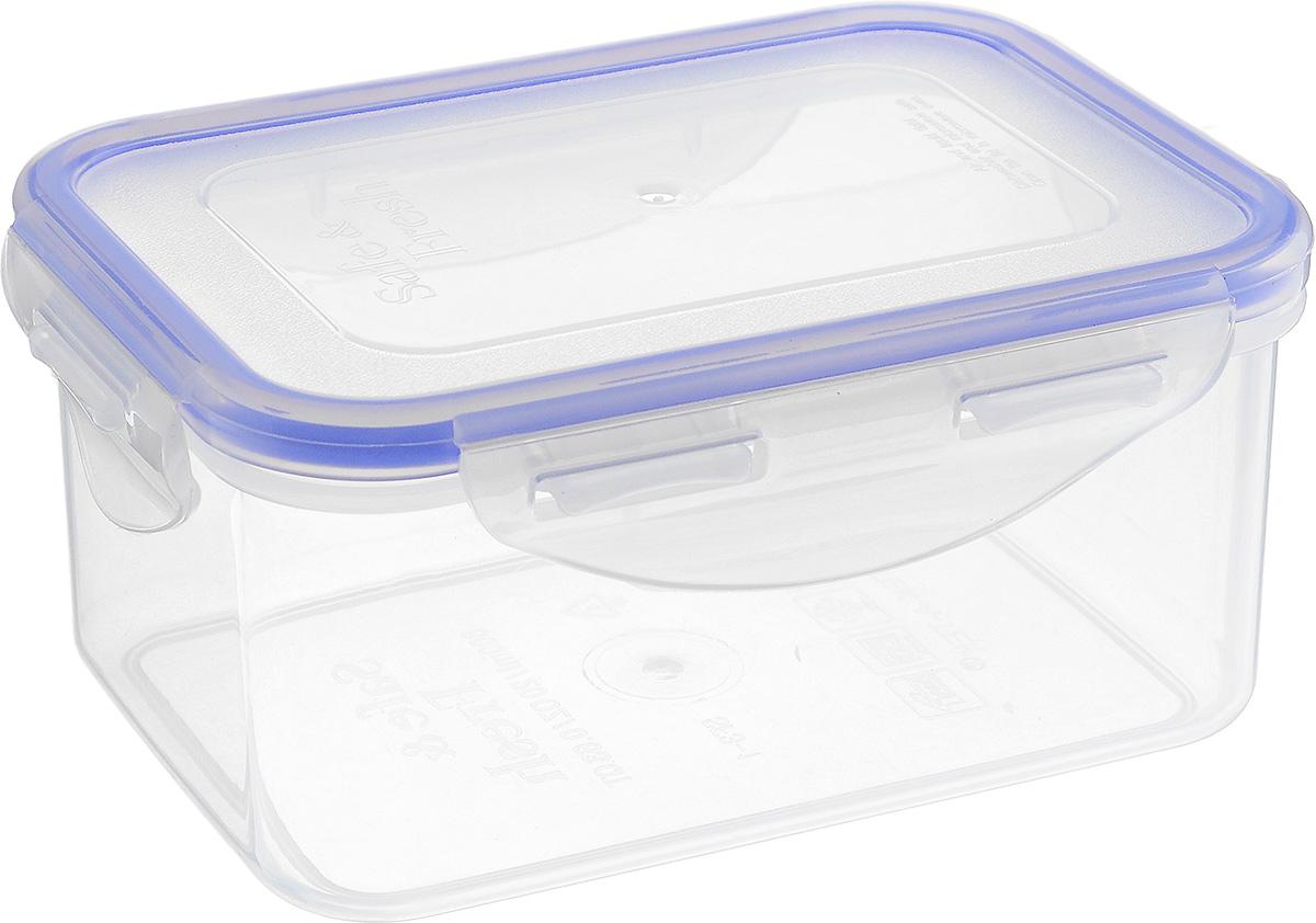 Контейнер пищевой Tek-a-Tek, 470 млSF2-2Пищевой контейнер Tek-a-Tek выполнен из высококачественного пластика. Изделие оснащено четырехсторонними петлями-замками и силиконовой прокладкой на внутренней стороне крышки. Это позволяет воде и воздуху не попадать внутрь, сохраняется герметичность.Изделие абсолютно нетоксично при любом температурном режиме.Можно использовать в посудомоечной машине, а так же в микроволновой печи (без крышки), замораживать до -20°С и размораживать различные продукты без потери вкусовых качеств.
