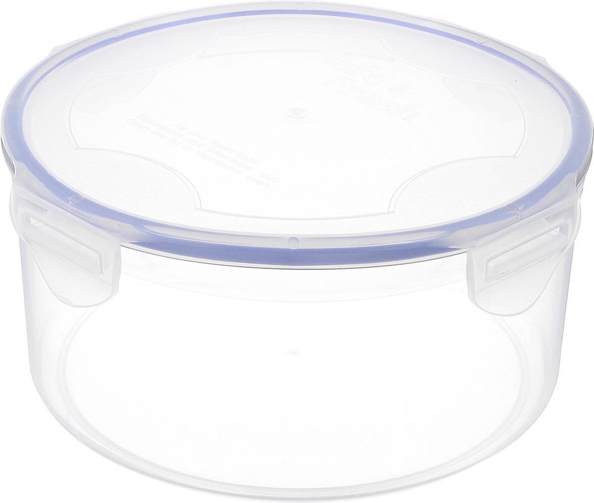 Контейнер пищевой Tek-a-Tek, 500 мл2-1Пищевой контейнер Tek-a-Tek выполнен из высококачественного пластика. Изделие оснащено четырехсторонними петлями-замками и силиконовой прокладкой на внутренней стороне крышки. Это позволяет воде и воздуху не попадать внутрь, сохраняется герметичность.Изделие абсолютно нетоксично при любом температурном режиме.Можно использовать в посудомоечной машине, а так же в микроволновой печи (без крышки), замораживать до -20°С и размораживать различные продукты без потери вкусовых качеств.
