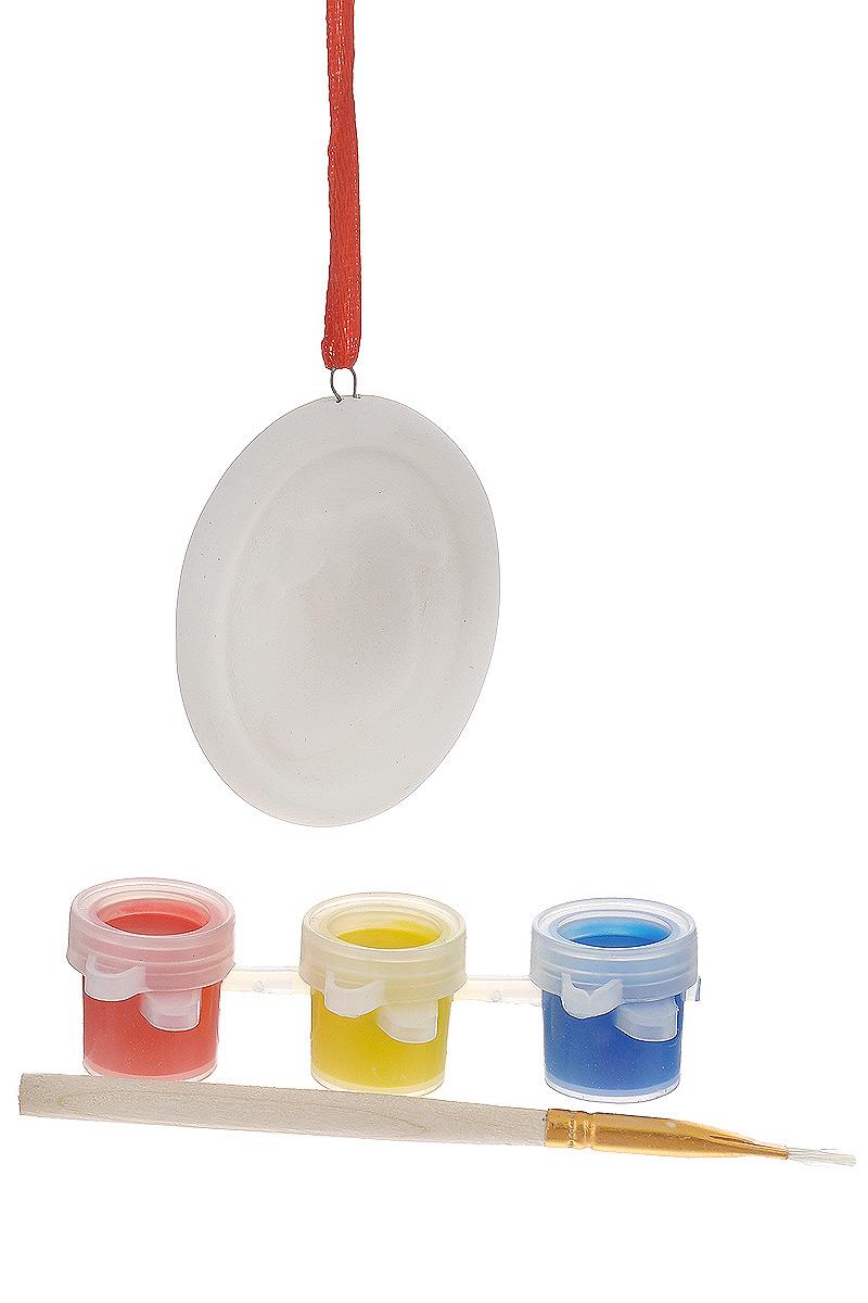 Новогодний набор для творчества Феникс-Презент. 34670NLED-424-2.5W-RНовогодний набор для творчества Феникс-Презент - это прекрасный подарок для детей, а также возможность самостоятельно создать елочную игрушку. В наборе подвесное украшение из доломитовой глины, украшенное рельефом в виде рождественского носочка, 3 акварельные краски и кисть. Украшение снабжено атласной ленточкой для подвешивания на елку.Елочная игрушка - символ Нового года. Она несет в себе волшебство и красоту праздника. Создайте в своем доме атмосферу веселья и радости, украшая новогоднюю елку нарядными игрушками, которые будут из года в год накапливать теплоту воспоминаний.