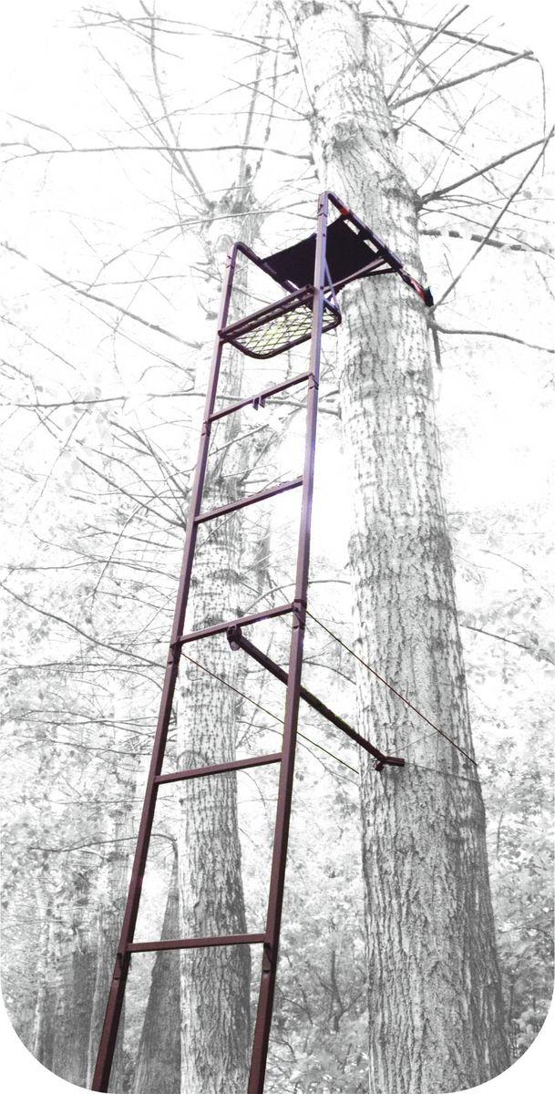 Засидка на дерево Canadian Camper CC-TS622, складная, с лестницей30220102Засидка с лестницей Canadian Camper CC-TS502 - быстрое и надежное крепление к стволу дерева. Для удобной переноски за спиной, изделие складывается в виде рюкзак (необходимые лямки в комплекте). Имеет удобное съемное сиденье с подлокотниками и большую решетчатую платформу для ног. Страховочная обвязка в комплекте.Высота лестницы до сиденья: 391,4 см.Размер платформы: 44,5 х 25,4 см.Высота сиденья: 53 см.Размер сиденья: 20,3 х 40,6 х 5 см.Нагрузка: 136 кг.