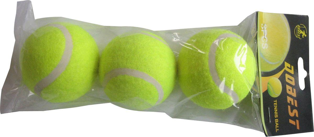 Мяч для большого тенниса Dobest, цвет: желтый, 3 шт. TB-GA03332515-2800Мяч для большого тенниса Dobest TB-GA03 просто необходим для спортивного инвентаря для игры любительского уровня.Оптимальная сила отскока и яркий цвет обеспечивают комфортную игру, позволяя вам полностью сосредоточится на достижении все более и более высоких спортивных результатов.Высококачественный фетр и усиленное ядро делают мяч более долговечным и позволяют использовать его на любом покрытии.В наборе 3 штуки.Диаметр мяча: 6,35 см.Вес: 58,5 гр.