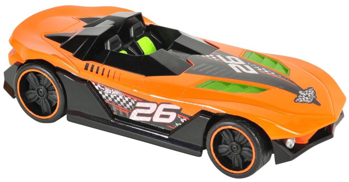 """Радиоуправляемая модель """"Nitro Charger"""" привлечет внимание не только ребенка, но и взрослого и станет отличным подарком любителю всего оригинального и необычного. Машинка является уменьшенной копией спортивного автомобиля с мощнейшими амортизаторами Nitrocharger Sport. Модель изготовлена из ударопрочной пластмассы высокого качества, шины выполнены из мягкой резины. При помощи пульта управления она перемещается вперед, дает задний ход, поворачивает влево и вправо. Мотор машины может работать в режиме """"турбо"""", благодаря чему она разгоняется до большой скорости. Авто не только эффектно выглядит, но еще у него подсвечивается двигатель. Машина обладает высокой стабильностью движения, что позволяет полностью контролировать его процесс, управляя уверенно и без суеты. Подсвеченный двигатель, резина на колесах и высокая детализация - все это позволит почувствовать настоящее удовольствие от управления машиной. Ваш ребенок часами будет играть с моделью, придумывая различные..."""