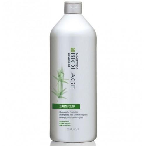 Matrix Biolage Fiberstrong шампунь 1000 млMP59.4DШампунь Файберстронг бережно очищает волосы, придавая им упругость и здоровый, сияющий вид.