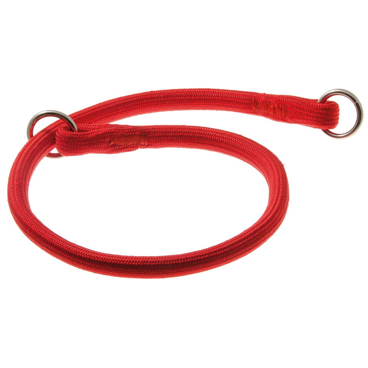 Ошейник для собак V.I.Pet, цвет: красный, диаметр 13 мм, длина 70 см0120710Качественный ошейник V.I.Pet обладает высокой прочностью и прекрасно держит форму. Идеален для длинношерстных пород, так как имеет круглое сечение, шерсть не сминается и не скатывается. Выполняет роль дрессировочного ошейника, с его помощью вы сможете научить питомца командам и корректировать его поведение. Может служить выставочным ошейником.
