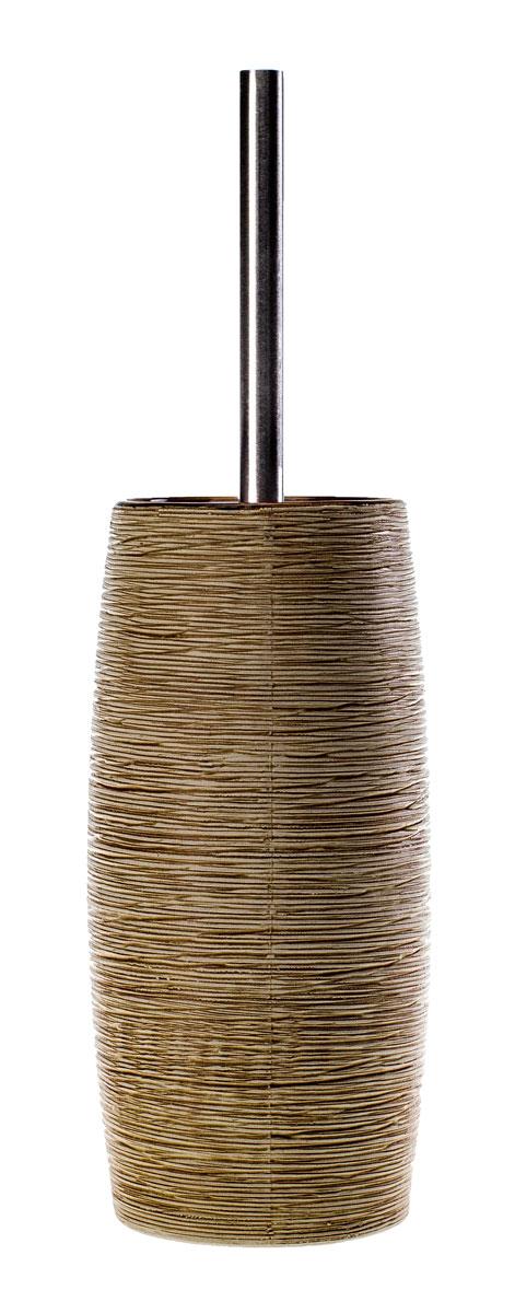 Ерш для унитаза Duschy Bees Light, с подставкой12723Ерш для унитаза с подставкой Duschy Bees Light выполнен из керамики бежевого цвета. Прочная металлическая ручка и жесткий ворс обеспечивают эффективное использование. Подставка под ерш отличается легкостью и компактностью, имеет рельефную поверхность, при этом она устойчива. Такой набор станет достойным дополнением туалетной комнаты. Характеристики:Материал: керамика, металл. Цвет: бежевый. Размер подставки: 24 см х 10 см х 10 см. Длина ершика: 34 см. Размер упаковки: 26 см х 13 см х 13 см. Артикул: 351-06.