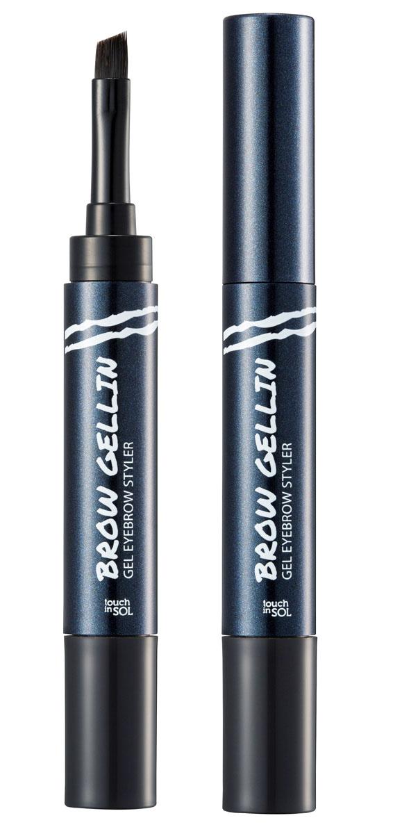 Touch in SOL Гель для бровей, №3 Monica28032022Безупречные натуральные брови в 3 простых шага при помощи геля для бровей. Оригинальная упаковка со встроенной кистью и гелиевой основой моментально подчеркнет, заполнит и придаст форму Вашим бровям. Водостойкая формула не смазывается, сохраняя законченный образ в течение всего дня. Преимущества: Стойкий цвет, водостойкая, не смазывающаяся формула; Заполняет и придает форму бровям; Создает естественный образ подчеркивая брови; Гелиевая формула; Кисточка и основа в одной упаковке.Цвет: #1 – Phoebe для блондинок#2 – Rachel для шатенок#3 – Monica для брюнеток