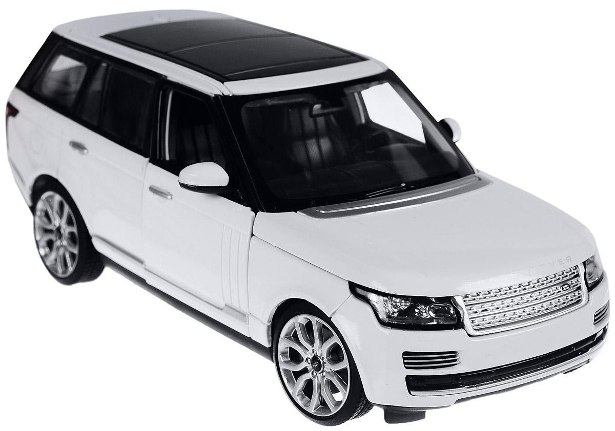 Rastar Модель автомобиля Range Rover цвет белый роботы silverlit приручи динозавра белый