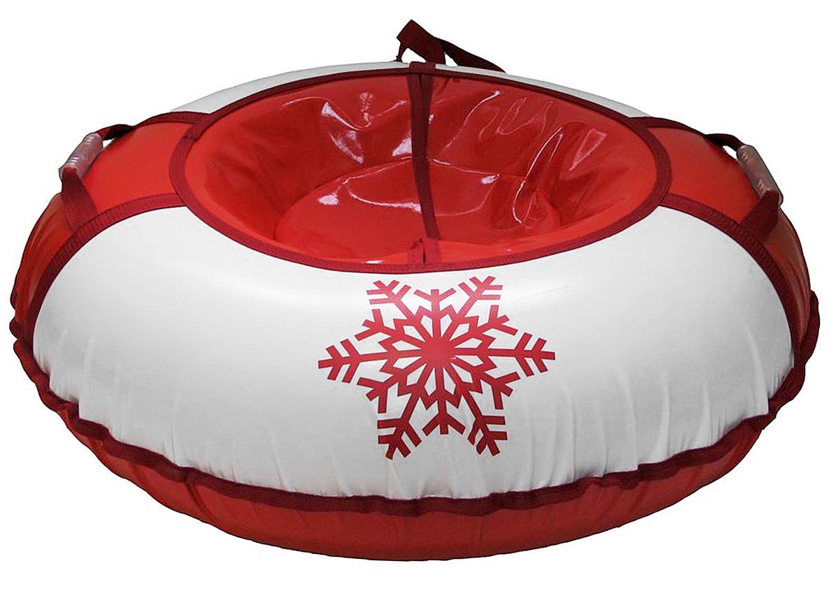Санки надувные Иглу Снежинка, цвет: красный, белыйRUC-01Любимая детская зимняя забава - это кататься с горки. Надувные санки Снежинка - это отличный вариант длятех, кто любит весело проводить время на свежем воздухе.Надувные санки Снежинка - это оригинальные круглые санки с простым дизайном, использованиемизносостойких материалов и комплектацией, достаточной для регулярного катания.Санки оборудованы плотной лентой для удобной буксировки.Комплектация: автомобильная камера согласно техническим условиям, упаковочный чехол, инструкция поэксплуатации на русском языке.Диаметр в накаченном состоянии: 90 см. Диаметр не надутой камеры: 65 см.Используемые камеры: R-15.Рекомендованное давление 0.1 Атм.УВАЖАЕМЫЕ КЛИЕНТЫ!Просим обратить ваше внимание на тот факт, что санки поставляются в сдутом виде и надуваются при помощинасоса (насос не входитв комплект).