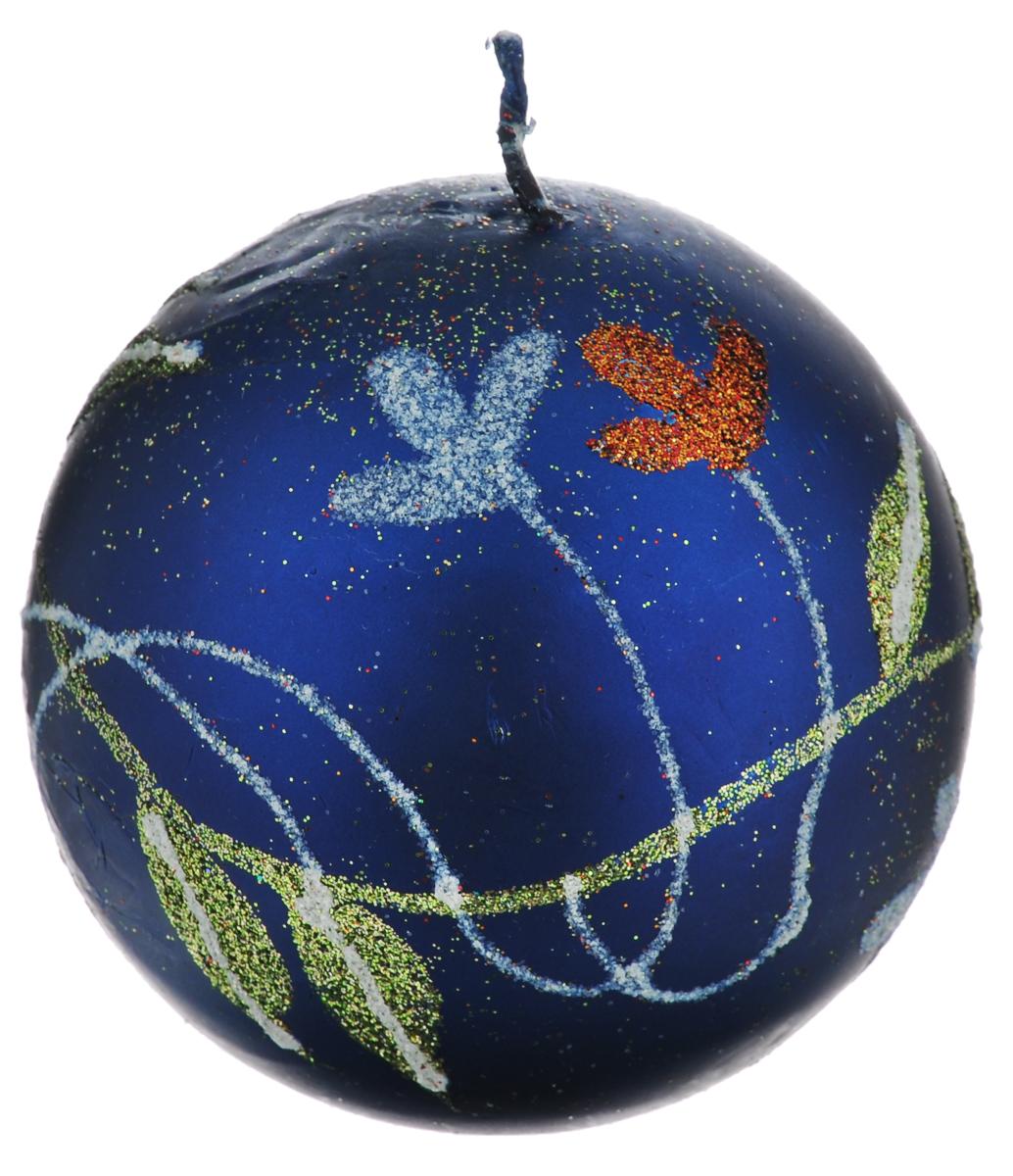Свеча-шар Winter Wings Цветы, диаметр 7,3 см12723Свеча-шар Winter Wings Цветы, изготовленная из парафина, станет прекрасным украшением интерьера помещения, создаст атмосферу таинственности и загадочности. Свеча имеет форму шара, украшена красивым цветочным рисунком, покрытым разноцветным глиттером.