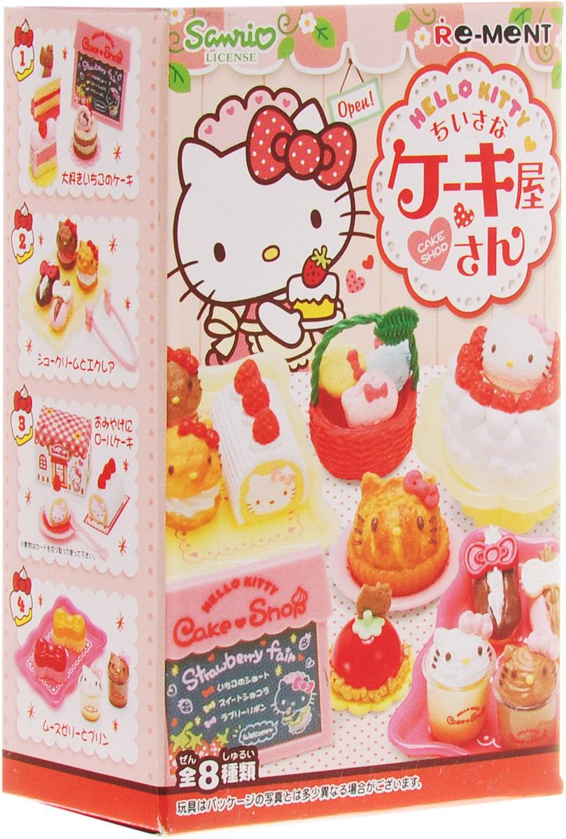 Hello Kitty Набор фигурок Кондитерская игрушки для кукольных домиков re ment re ment