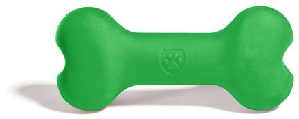 Игрушка для собак SafeMade Biggie Bone, цвет: зеленый, длина 20 смC-105_розовыйИгрушка для собак SafeMade Biggie Bone станет отличным подарком активному питомцу. Изделие создано из безопасного и прочного материала силикона, поэтому такаю игрушку можно использовать при длительных занятиях и играх с любимцем. Эластичность силикона и специальные выступы на поверхности игрушек способствуют тренировке жевательных мышц, очищению зубов и массажу десен собаки.Размер игрушки (ДхШ): 20 х 9 см.